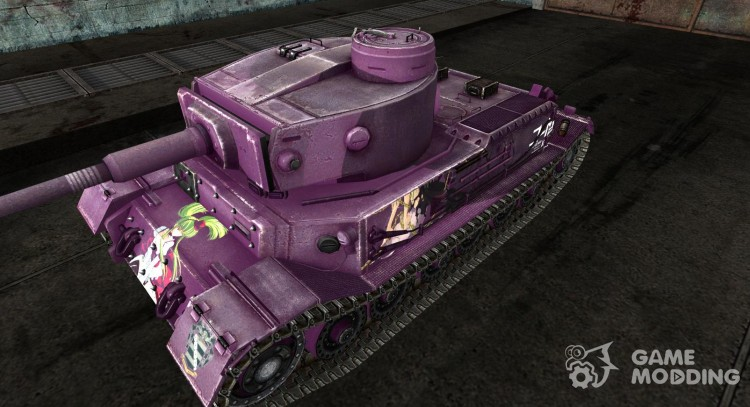 Skin for Tiger (p) for World Of Tanks