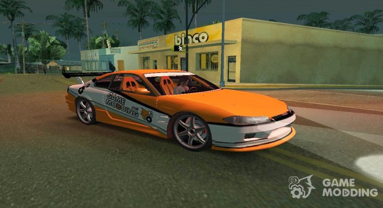 Nissan Silvia-S15 Game Modding for GTA San Andreas