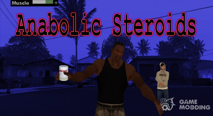 Anabolic Steroids for GTA San Andreas