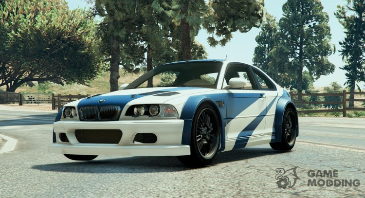 Bmw M3 Gtr E46 Most Wanted 1 3 For Gta 5