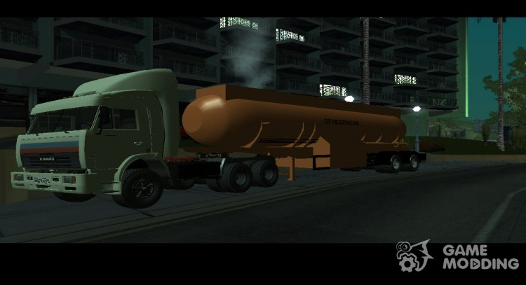 Truckers. The plot of the series for GTA San Andreas