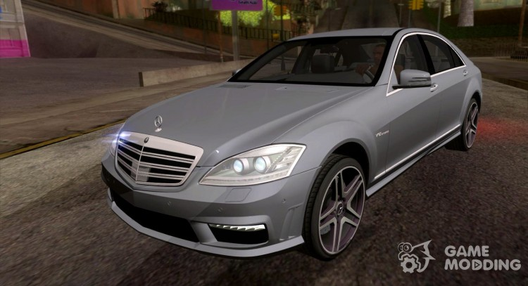 Mercedes Benz S65 Amg V12 Biturbo For Gta San Andreas