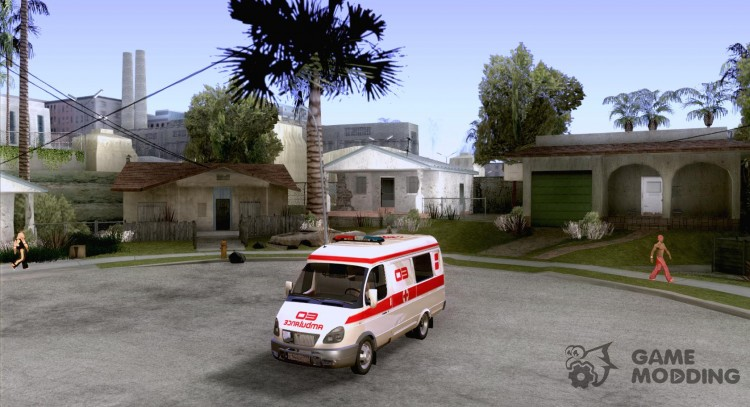 Gazelle ambulance for GTA San Andreas