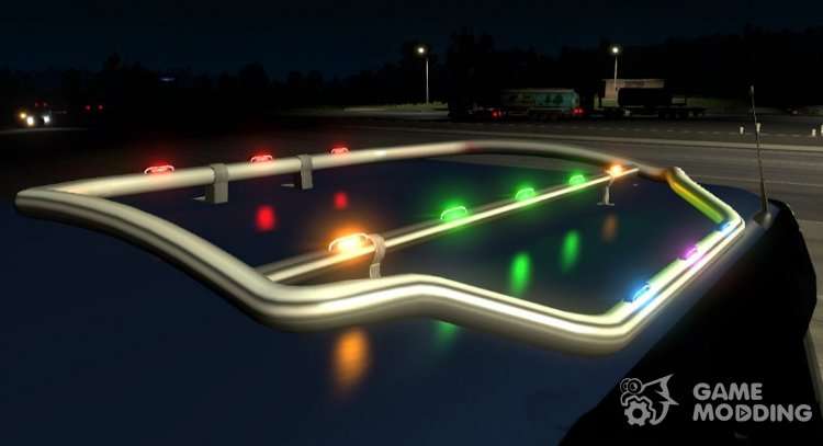 Led lights for Euro Truck Simulator 2