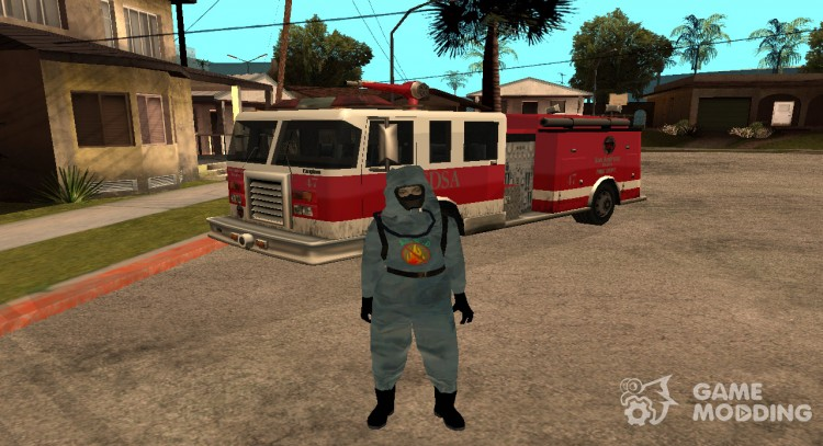 Firefighter for GTA San Andreas