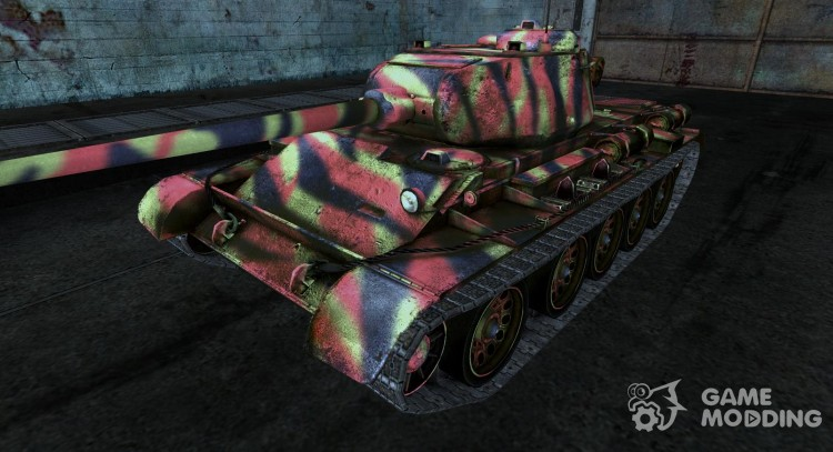 T-44 19 для World Of Tanks