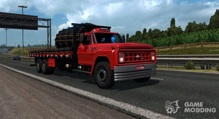 Ford F 14000 for Euro Truck Simulator 2