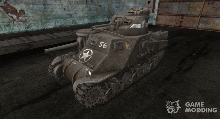 Skin for M3 Lee for World Of Tanks