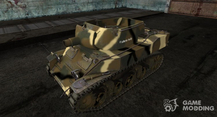 M8A1 for World Of Tanks