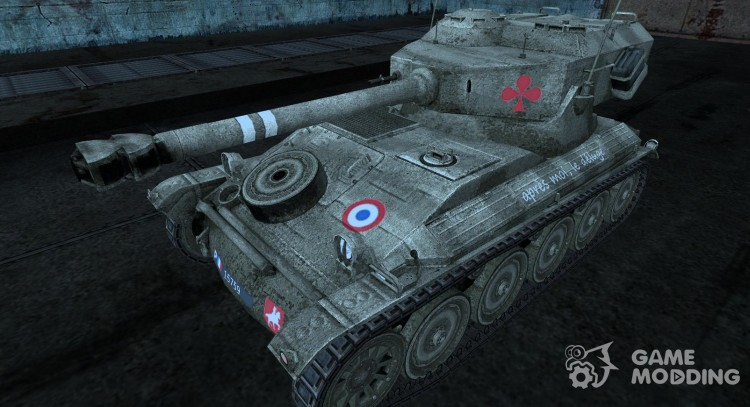 Skin for AMX 12t for World Of Tanks