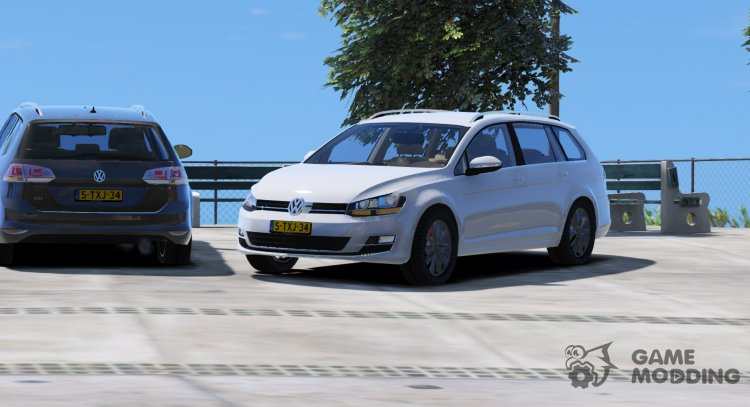 Volkswagen Golf Variant 2014 for GTA 5
