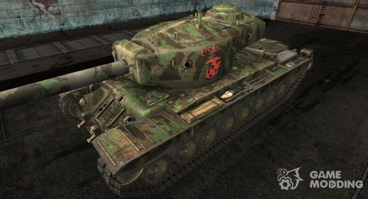 Skin for T34 hvy for World Of Tanks