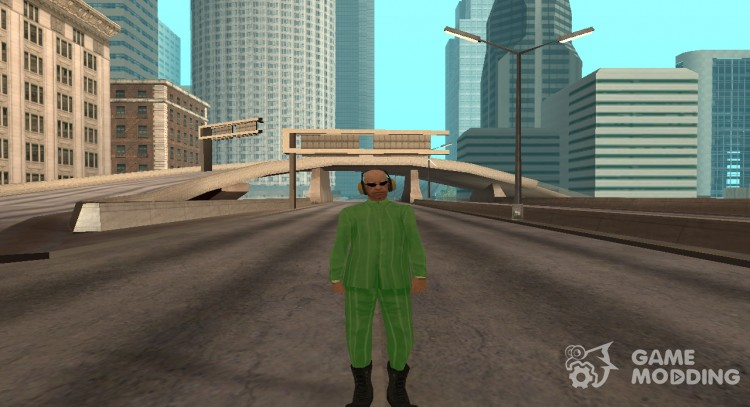 Man in pajamas for GTA San Andreas