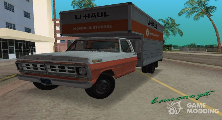 1971 Ford F-350 U-Haul для GTA Vice City