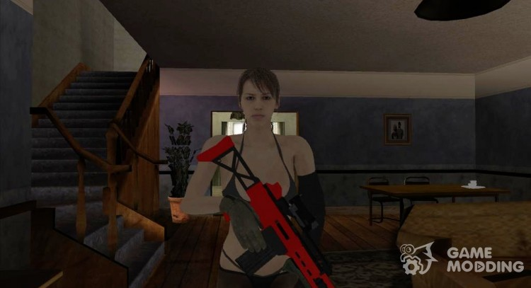 Skin HD Quiet (MGSV) for GTA San Andreas