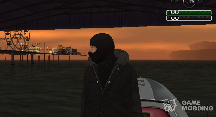 The guy in the mask for GTA San Andreas