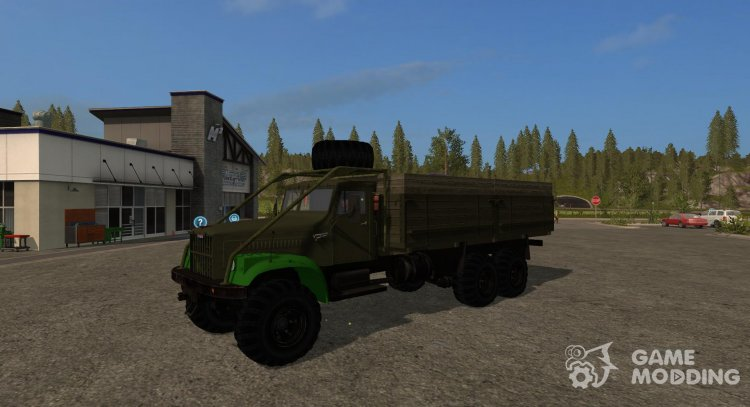 Mod KrAZ-257 V1. 2 for Farming Simulator 2017