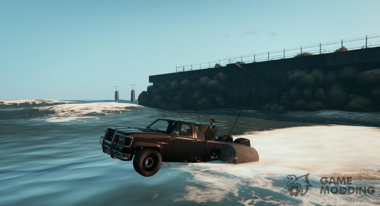 Amphibious Car (Top Gear) v1.0 for GTA 5