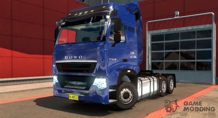Howo T7H for Euro Truck Simulator 2