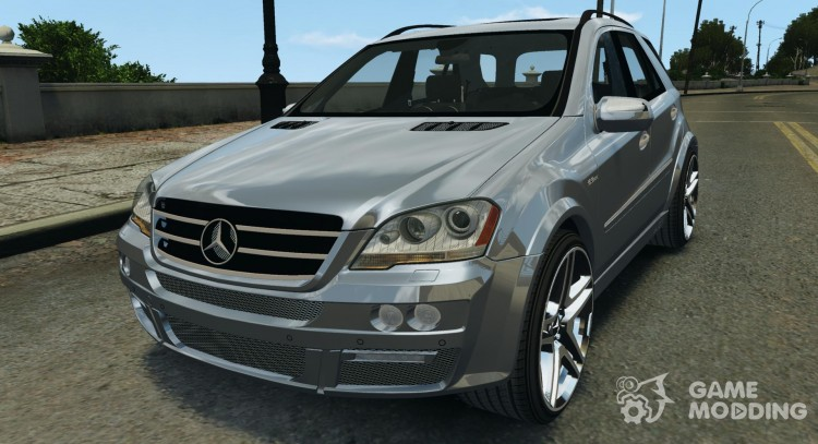 Mercedes-Benz ML63 AMG Brabus for GTA 4