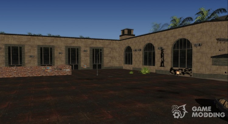 Union Station Retextured (MipMap) for GTA San Andreas
