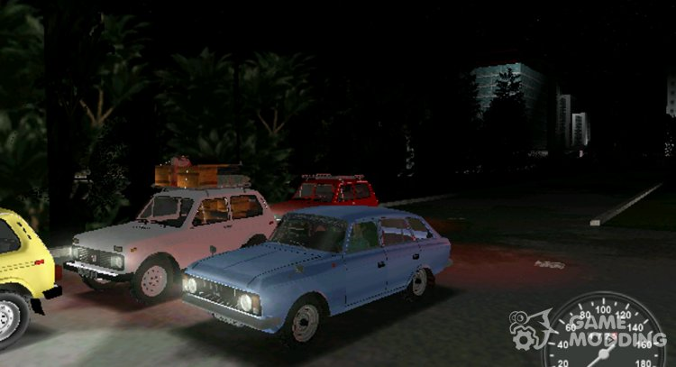 IZH 21251 for GTA Vice City