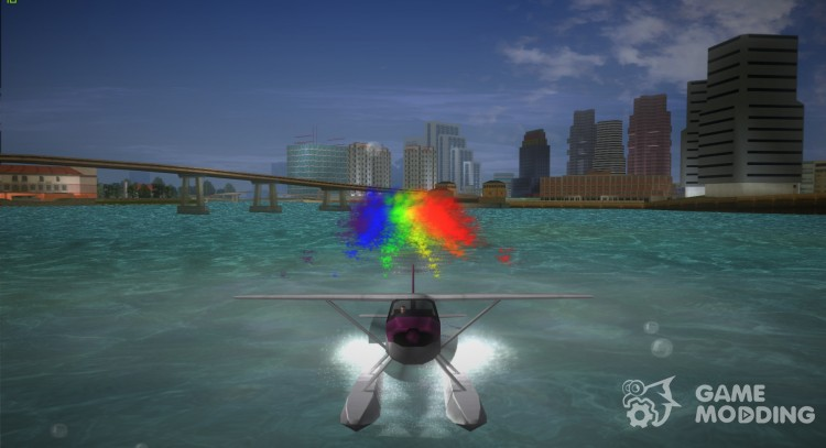 Skimmer Rainbow for GTA Vice City