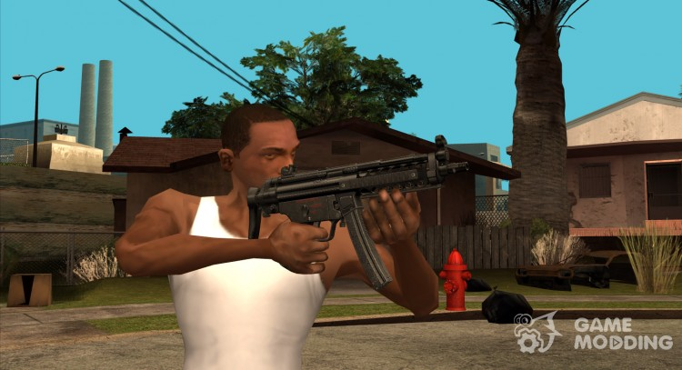HQ MP5 (With Original HD Icon) for GTA San Andreas
