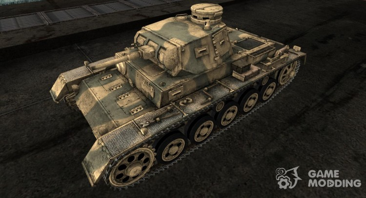 The Panzer III Skin for 30 mm (A) for World Of Tanks