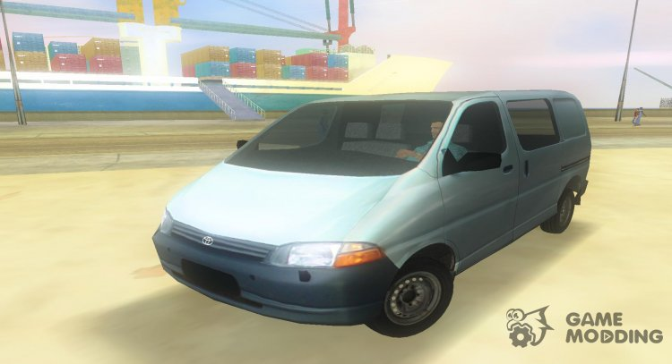 Toyota Granvia for GTA Vice City