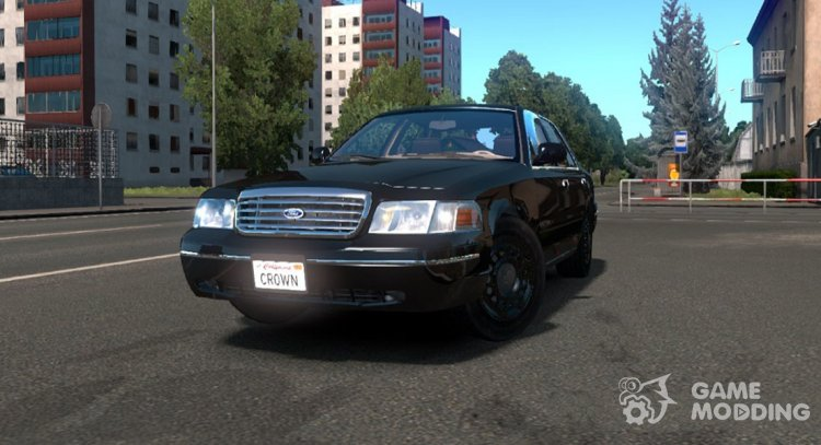 Ford Crown Victoria for Euro Truck Simulator 2