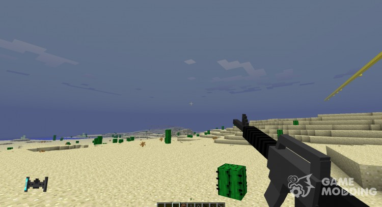 3D guns for Minecraft
