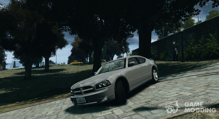 Dodge Charger RT Hemi 2008 для GTA 4