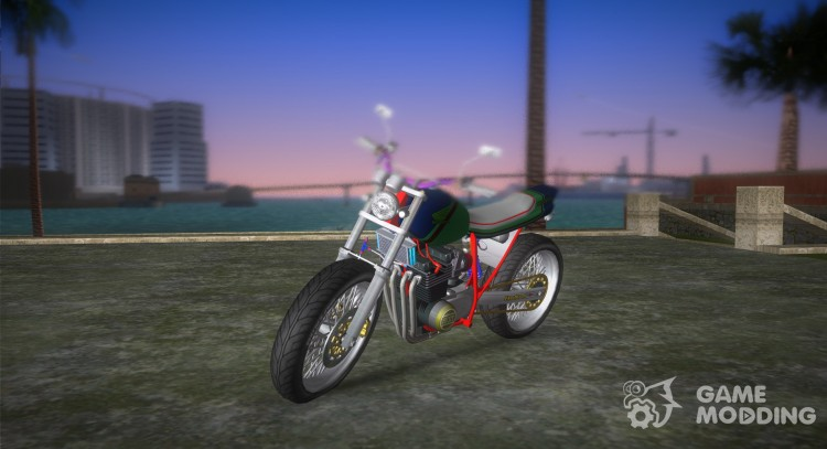Honda FTR Custom v3.0 for GTA Vice City