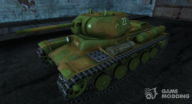 Skin for the kV-13 1st Guards Armored Tanks for World Of Tanks