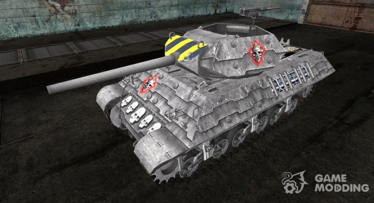 Skin for M10 Wolverine (Varhammer) for World Of Tanks