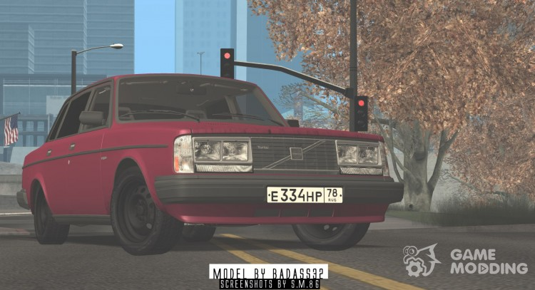 Volvo 244 Turbo 1983 for GTA San Andreas