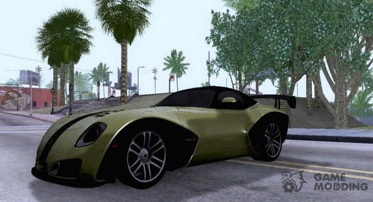 2010 Devon Gtx V10 For Gta San Andreas