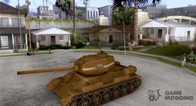Tank T-34 for GTA San Andreas