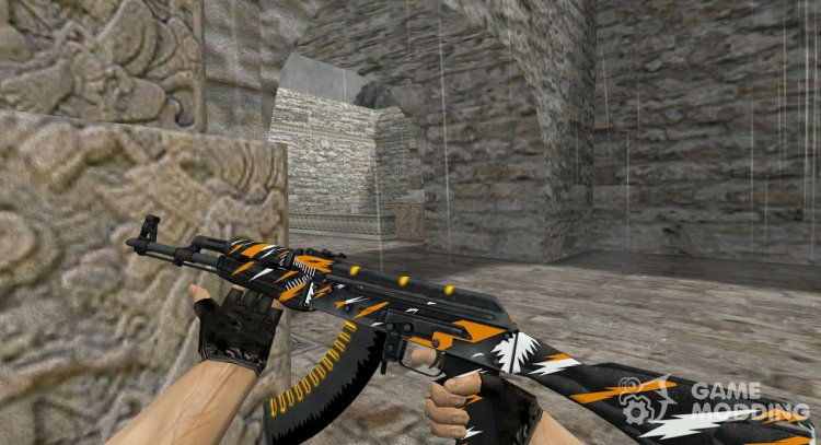 AK-47 The Slayer for Counter Strike 1.6