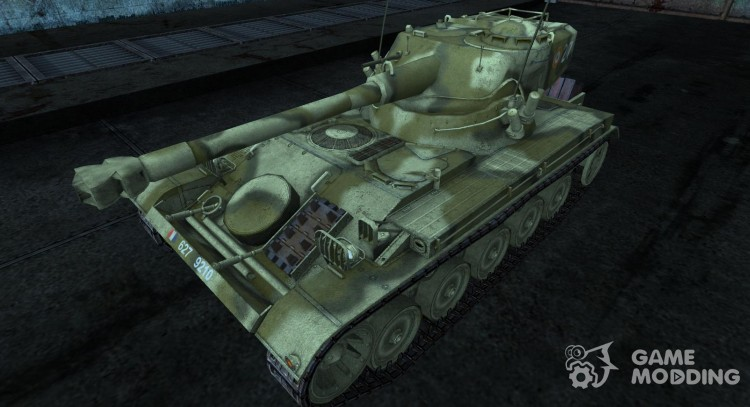 Skin for AMX 13 75 Nr 7 for World Of Tanks