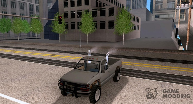 Chevrolet Silverado 5th Wheel Hitch 1994 для GTA San Andreas