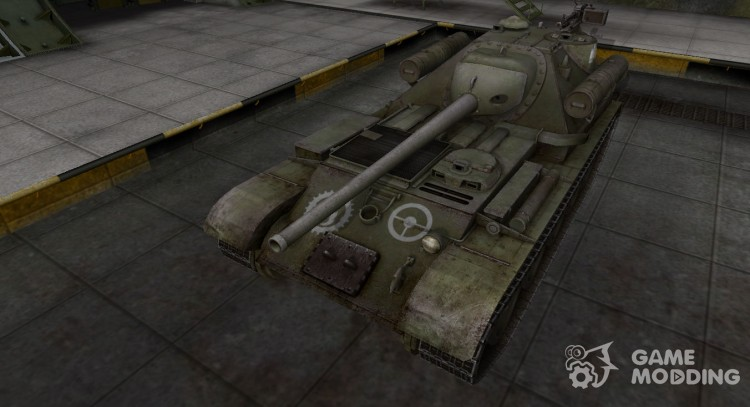 Breaking through the zone contour for Su-101 for World Of Tanks
