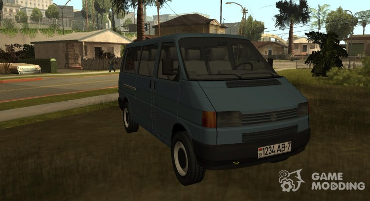 VolksWagen T4 Transporter for GTA San Andreas