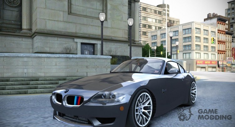 BMW Z4 M Coupe for GTA 4