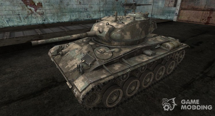 Шкурка для M24 Chaffee для World Of Tanks