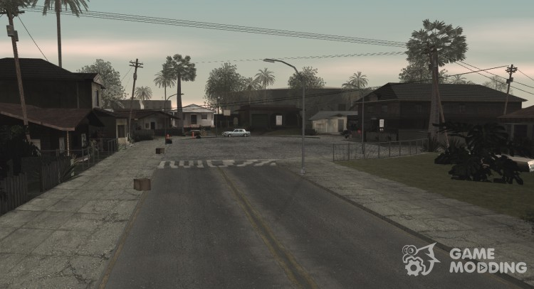 HQ Textures, plugins and graphics from GTA IV for GTA San