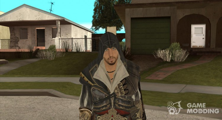 Ezio auditore in armor of Altair for GTA San Andreas