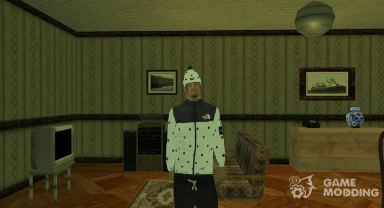 Lil Pump v.2 (wmybmx) for GTA San Andreas