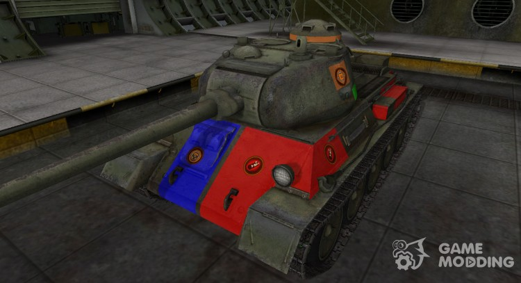 High-quality skin for t-43 for World Of Tanks